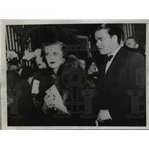 1936 Press Photo Mr. and Mrs. Charles Sweeney