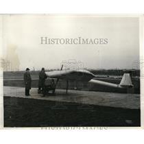 1931 Press Photo William Grady and Taylor McDonald, designer and builder