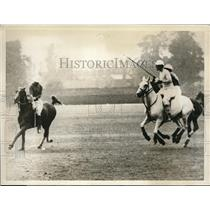 1926 Press Photo King of Spain Plays Polo Between El Cordo and Hurricanes