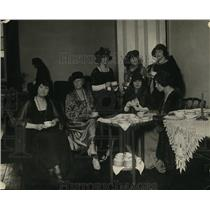1923 Press Photo Mrs. Marion Bogart, Mrs. Prall Bird, Miss Brandy, Miss Alice