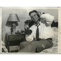 1931 Press Photo Pepper Martin St Louis Cardinals outfielder - nes23235