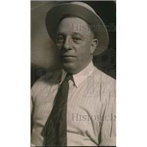 1919 Press Photo Matt Hinkel