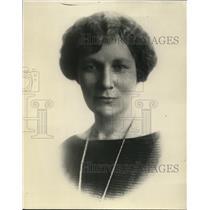 1925 Press Photo Mrs. Augusta McDonald Evanston Illinois