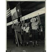 1941 Press Photo Hardin-Simmons University of Abilene Cowboy Band in Costume