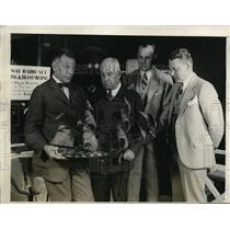 1927 Press Photo Fourth Annual World's Radio Fair at Madison Square Garden
