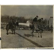 1936 Press Photo Missouri holds Mule Rodeo
