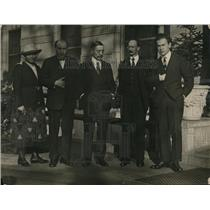 1921 Press Photo Madame L. Skvirsky, B.E. Skvirsky and Yazikoff