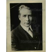 1929 Press Photo unnamed man
