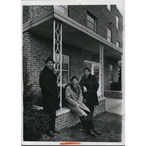 1967 Press Photo (L to R) Robert, Arthur and Charles Feiner of Feiner Homes