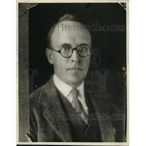 1927 Press Photo Richard Fuller, connected with the Old Book Store