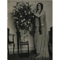 1923 Press Photo Madam Nanc, wife of the Sec of the Legation of Romania