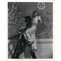 1940 Press Photo Muriel Angelus  for Parmount's Safari