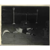 1934 Press Photo Miami Fla Cesar at Jai Alai match