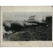 1923 Press Photo Aerial Bomb weighing a total of 7,500 pound