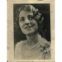 1929 Press Photo Jessica Dragonette, favorite Radio Star