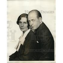 1931 Press Photo Mr. And Mrs. Eugene Ormandy Are Heard On Many Programs