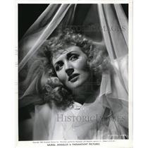 1940 Press Photo English actress Muriel Angelus, Paramount Pictures star