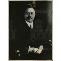 1919 Press Photo Kijuro Shidehara Japanese Ambassador To the United States