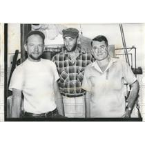 Lost adventurers.L-R: Donald Trawitzki 35 Jerry Ball 26 and Charles Aylen 36.