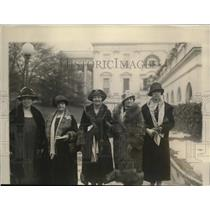 1926 Press Photo Mrs. Murray, Josephine Casey, Marie Spiegelhalter and Myrtle