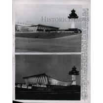 1962 Press Photo Views of the New Dulle International Airport - ned47457