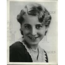 1931 Press Photo Jessica Dragonette, Radio Star