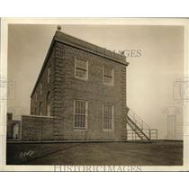 """1925 Press Photo Perched on top of Hotel Sherman-""""Midwestern White House"""""""