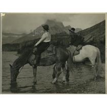 1925 Press Photo Elizabeth Fraxer of New York City