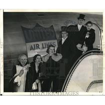 1939 Press Photo F.W Hinline, B. Hineline, J. Close, J. Rudy, J Close & J. Rudy