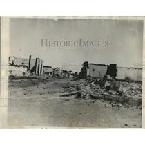 1927 Press Photo Nicaragua after it had been bombed from the air