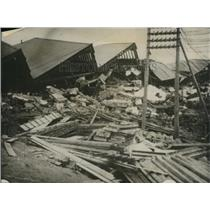 1923 Press Photo Devastation of a Japanese town by an earthquake
