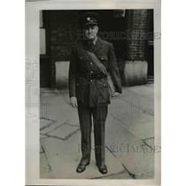 1939 Press Photo Somewhere in France Richard D McMillan Correspondent of the