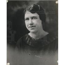 1928 Press Photo Christine Olson of the West