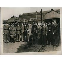 1939 Press Photo British & American War Correspondents & photographers