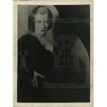 1931 Press Photo Millicent Green actress in Elmer Rice's new play The Left Bank
