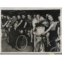 1932 Press Photo Fraulein Charlotte Susa, noted German screen star