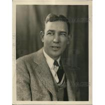 1928 Press Photo Portrait of C.J. Matthews