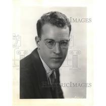 1931 Press Photo George Hicks of Radio