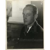 1927 Press Photo IS Knickerbocher, NEA artist
