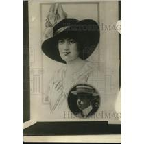 1921 Press Photo A portrait of  Vincent Astor and his wife