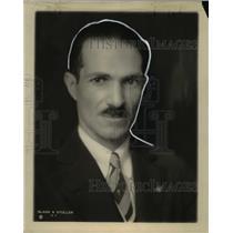 1928 Press Photo Leader of Brazilian-American expedition Tozzi Calvao