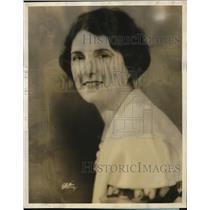 1932 Press Photo Kathryn Parsons as Girl O Yesterday on WABC Columbia Radio