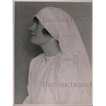 1923 Press Photo Red Cross Nurse Della Allen