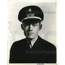 1938 Press Photo American Airlines pilot Claude T Perdue - ned79377