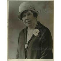 1927 Press Photo Dr Elma Ward Pres of Business & Professional Women's Club
