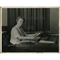 1936 Press Photo Barny S. Sweney, Master Reporting Company president