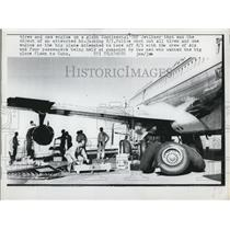 1962 Press Photo Attempted Hi-Jacking on Continental 707 Jetliner - ned66902