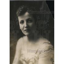 1918 Press Photo Augusta Christina Glass now Mrs Robert McAllen