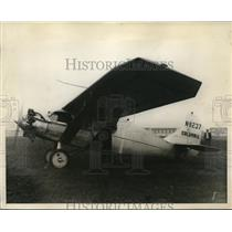 1928 Press Photo Columbia Plane - ned64880
