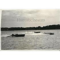 1931 Press Photo boats, Louisa, Miss Philadelphia, Lizard in Sweepstakes Regatta